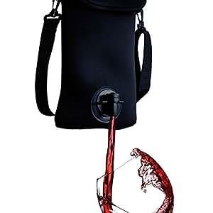 AstroChill Wine Tote - Neoprene Wine Bag - Bag-In-Box Wine Tote - Wine On-The-Go - Great For Picnics, Beaches, Concerts & More