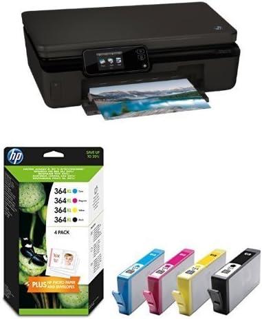 HP Photosmart 5520 Pack - Impresora multifunción + Pack de 4 ...