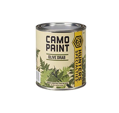 Hunters Specialties Liquid Paint - Quart Can (Olive Drab) (Best Duck Boat Paint)