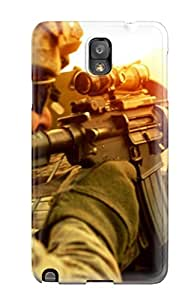 Galaxy Note 3 Hard Back With Bumper Silicone Gel Tpu Case Cover Armys : Special Forces
