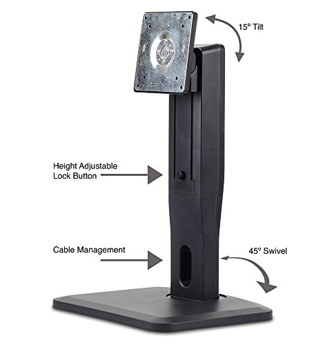 Nixeus Vesa Height Adjustable Lcd Monitor Stand With Tilt