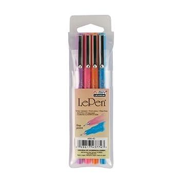 0.3 Point Size Uchida of America 4300-4D 4-Piece Le Pen Drawing Pen Set