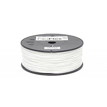 Filaflex 1.75 mm 500gr White: Amazon.es: Industria, empresas y ciencia