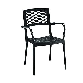 Idea Sillas Bar 6, sillas de Polipropileno, con Patas de Aluminio ...