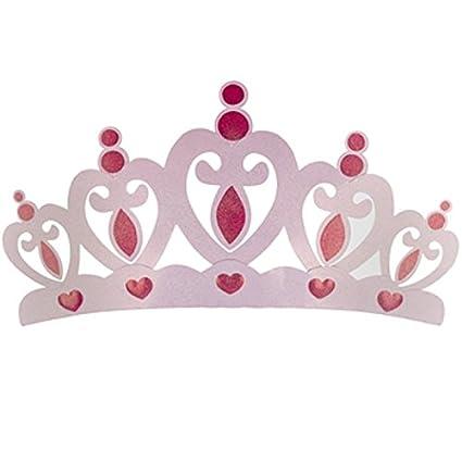 Amazon.com: Pink Metal Crown Wall Decor