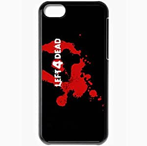 Personalized iPhone 5C Cell phone Case/Cover Skin Left 4 Dead Black by supermalls