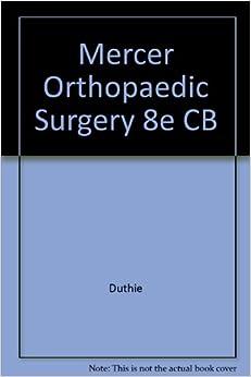 Descargar U Torrent Mercer Orthopaedic Surgery 8e Cb De Epub