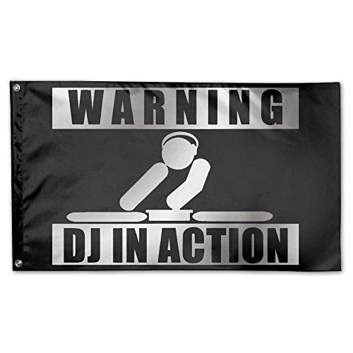 DJ In Action Home Garden Flags Polyester Flag Indoor/Outdoor