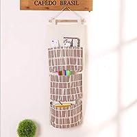 Mehrschichtige Aufbewahrungstasche Wandaufbewahrungstasche Stoff Schlafsaal Tür hängen Aufbewahrungstasche hängen