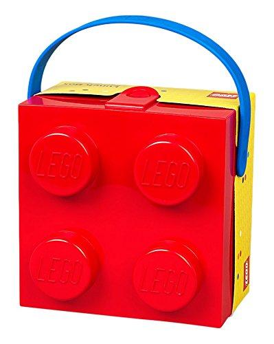 Lego Box Blue Handle Bright