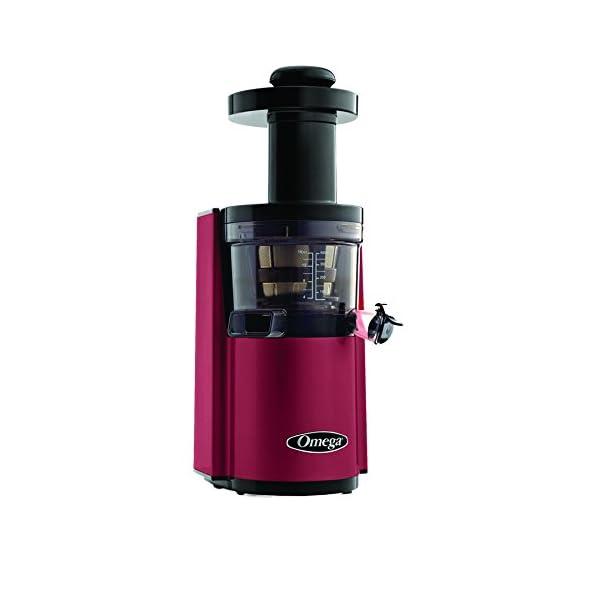 Omega VSJ843RS Hurom - Estrattore di succo, verticale rosso - 2020 -