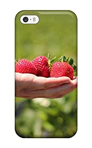 Forever Collectibles Strawberry Hard Snap-on Iphone 4/4s Case