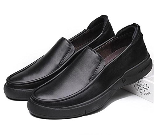 Hommes Chaussures Cuir véritable Glisser sur EntrepriseFlâneurs Semelles souples Smart