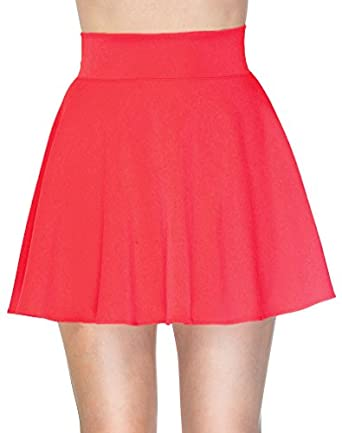 Simplicity Cute/High Waisted Mini Skirt in a Pleated and Flared ...