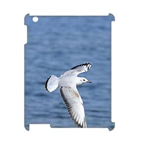 GRTT Hot Selling IPad 2,3,4 Cover Custom Case Seagull,3D Bumper Plastic customized case RT827849