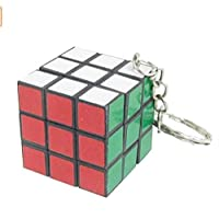 Dalino Fashion and Personality Creative Intelligence Colorful Magic Cube Shaped Pendant Keychain Key Ring