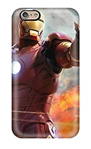 7376762K84811463 High Quality Iron Man Hd Game Case For Iphone 6 / Perfect Case