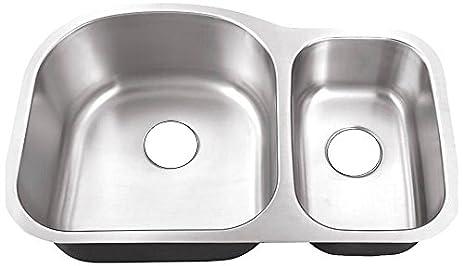 belle foret bfm308 undermount 0 hole 70 30 double bowl kitchen sink 31 belle foret bfm308 undermount 0 hole 70 30 double bowl kitchen      rh   amazon com