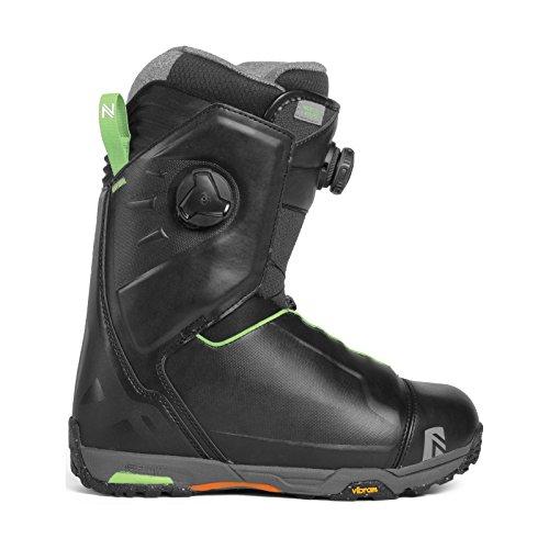 Nidecker Hylite H-Lock Snowboard Boot (Black, 10) - Men's