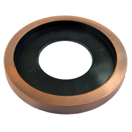Canterbury Enterprises 70008AC Beauty Trim Ring for Fireplace Log Lighter Valve Flange, Antique Copper