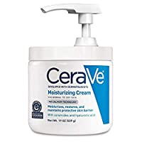 CeraVe Moisturizing Cream | Daily Face and Body Moisturizer for Dry Skin Pump (19...