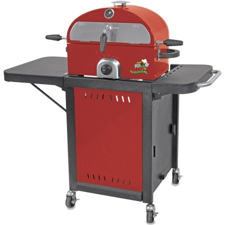 Mr. Pizza LP Gas Pizza Oven/Grill with Cart Combo Mr. Pizza