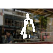 25cm Iron Man Tony Stark Vinyl Stickers Funny Decals Bumper Car Auto Computer Laptop Wall Window Glass Skateboard Snowboard Helmet