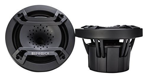 Hifonics TPS-CX65 6.5 inch Compression Horn Speaker in a Compact Enclosure, Pair (Black)