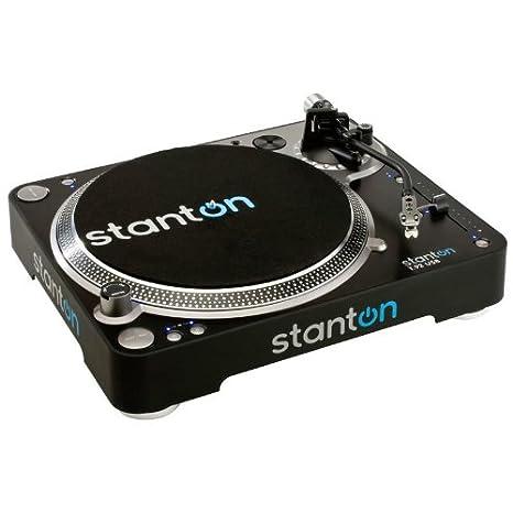 Plato Tocadiscos DJ Stanton T92. Tracción Directa. USB: Amazon.es ...