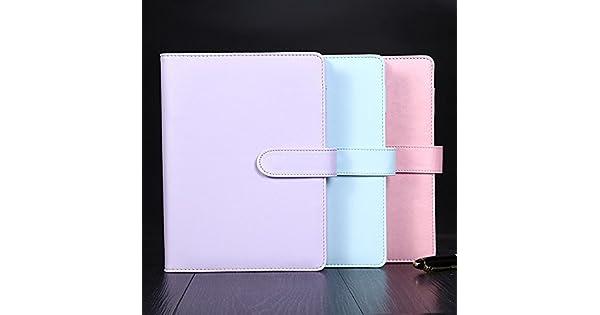 Amazon.com: katoot lindo macaron cuaderno de espiral ...