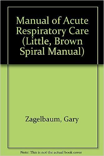Descargar Ebooks Torrent Manual Of Acute Respiratory Care Formato PDF Kindle