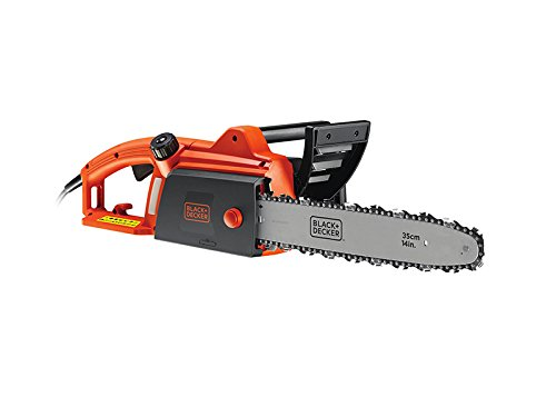 41jhiQX4ofL - BLACK+DECKER Corded Chainsaw, 1800 W