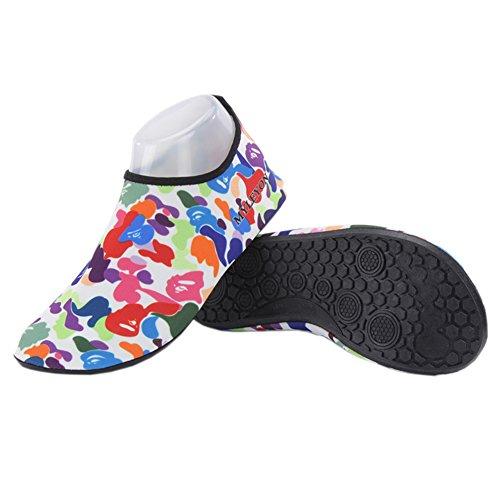 Barerun Barfuß Quick-Dry Frauen Männer Wasser Schuhe Haut Aqua Socken für Schwimmen Beach Pool Surf Yoga Sport Übung Armee