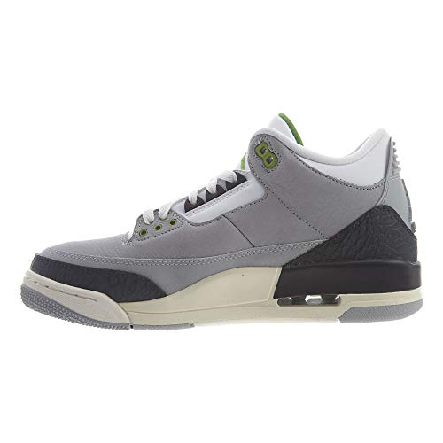 Da Retro chlorophyll Grey 006 Smoke Fitness Scarpe 3 Uomo Air Jordan white Nike black Multicolore lt wHtX7