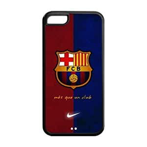 Diystore Football FC Barcelona IPHONE 5C Best Rubber Cover Case