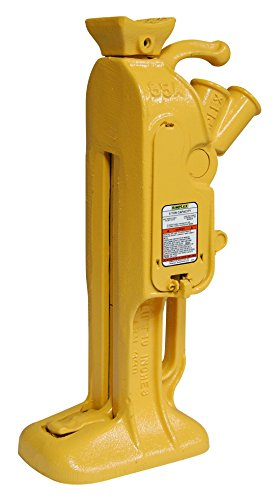 Simplex RJ85A Steel Mechanical Ratchet Jack, 5 Ton Capacity with 10'' Stroke by Simplex