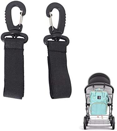 2Pcs//lot baby stroller hooks pram pushchair stroller shopping bag clip