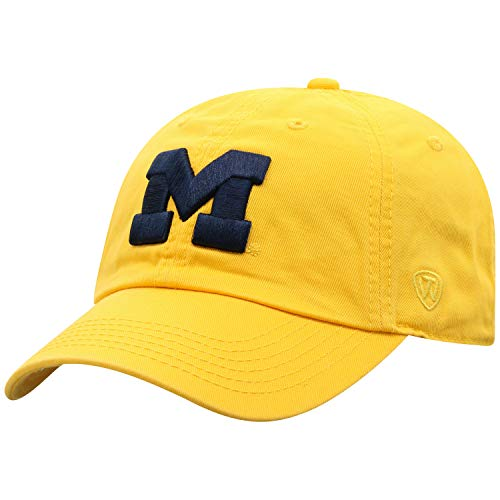 - Top of the World Michigan Wolverines Men's Hat Icon, Yellow, Adjustable