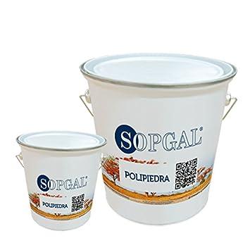Polipiedra: revestimiento impermeable decorativo - 5 kgs + 1 ...