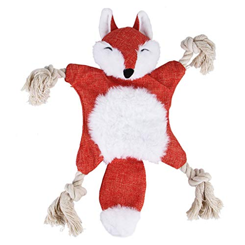 XBKPLO Pets Dogs Toys,Chew Plush Toy - Puppy Cat Cotton Hemp Rope Durable Animal Shape Grinding Teeth Aggressive Pet Interactive Toys