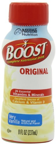 Boost Original Complete Nutritional Drink, Vanilla Delight, 8 fl oz Bottle