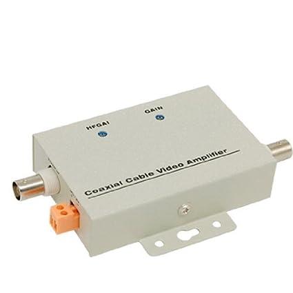 BNC coaxial CCTV Balun video del amplificador para cámaras de CCTV