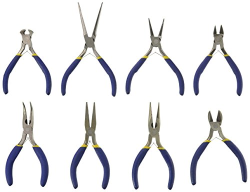 SE JF24 24 Piece Professional Assorted Styles Mini (Assorted Plier Set)
