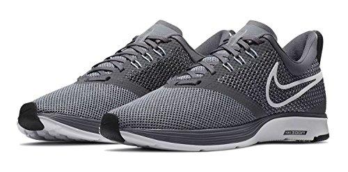Nike Mænd Løbesko Zoom Strejke Spor Løbesko Grå (mørkegrå / Hvid / Stealth / Sort 002) 3abtwNP