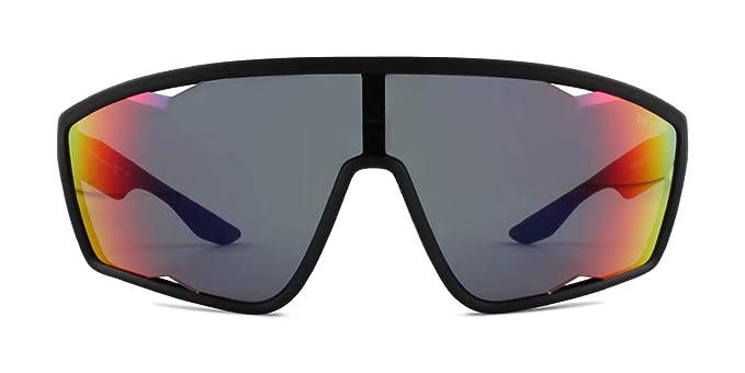 Amazon.com: Prada PS09U - Gafas de sol con efecto espejo ...