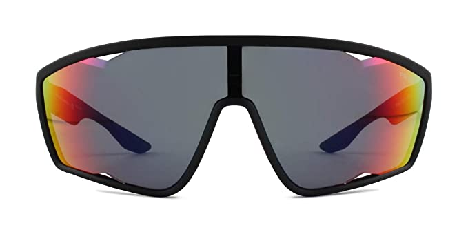 Prada Linea Rossa 0PS 09US Gafas de Sol, Black Rubber, 40 ...