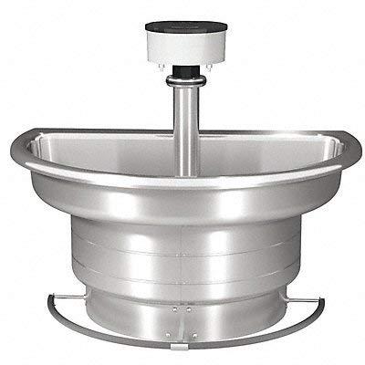 Semi Circular Wash Fountain - Wash Fountain 54 in Wide Semi Circular