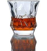 Paysky glass barware bourbon glass set of 4 old liquor fashion, whisky glass ,cocktail glasses se...