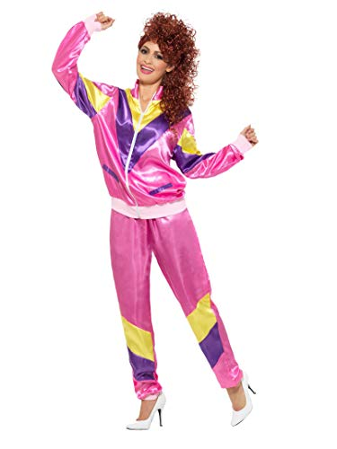 80s Jumpsuit Costume (Smiffys 80s Height of Fashion Shell Suit)