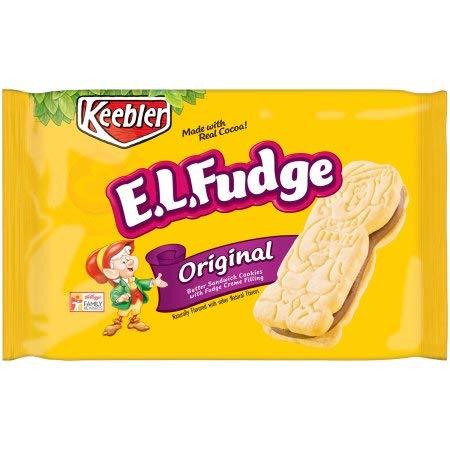 Keebler, E.l.fudge, Elfwich Butter Sandwich Cookies, Original (Pack of 24) by Generic (Image #1)